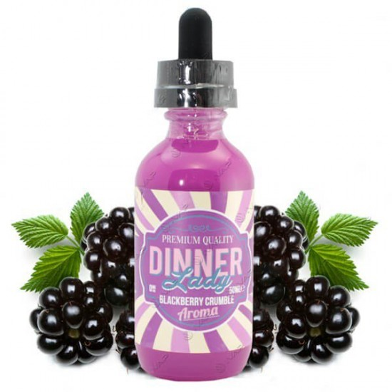 Dinner Lady Blackberry Crumble Likit 60mL